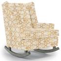 Best Home Furnishings Runner Rockers Paisley Rocking Chair - Item Number: 0165-30565