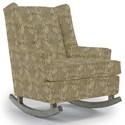 Best Home Furnishings Runner Rockers Paisley Rocking Chair - Item Number: 0165-31079