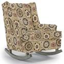 Best Home Furnishings Runner Rockers Paisley Rocking Chair - Item Number: 0165-31223