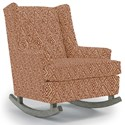Best Home Furnishings Runner Rockers Paisley Rocking Chair - Item Number: 0165-31688