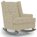Best Home Furnishings Runner Rockers Paisley Rocking Chair - Item Number: 0165-31689