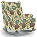 Best Home Furnishings Runner Rockers Paisley Rocking Chair - Item Number: 0165-31747