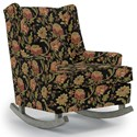Best Home Furnishings Runner Rockers Paisley Rocking Chair - Item Number: 0165-31923