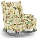 Best Home Furnishings Runner Rockers Paisley Rocking Chair - Item Number: 0165-31957