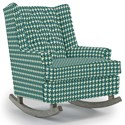 Best Home Furnishings Runner Rockers Paisley Rocking Chair - Item Number: 0165-32182