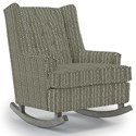 Best Home Furnishings Runner Rockers Paisley Rocking Chair - Item Number: 0165-33023A