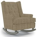 Best Home Furnishings Runner Rockers Paisley Rocking Chair - Item Number: 0165-33029