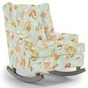 Best Home Furnishings Runner Rockers Paisley Rocking Chair - Item Number: 0165-33342