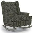 Best Home Furnishings Runner Rockers Paisley Rocking Chair - Item Number: 0165-33892