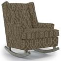 Best Home Furnishings Runner Rockers Paisley Rocking Chair - Item Number: 0165-33893