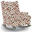 Best Home Furnishings Runner Rockers Paisley Rocking Chair - Item Number: 0165-34037