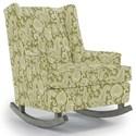 Best Home Furnishings Runner Rockers Paisley Rocking Chair - Item Number: 0165-34061