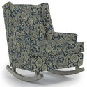Best Home Furnishings Runner Rockers Paisley Rocking Chair - Item Number: 0165-34062