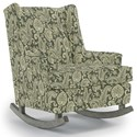 Best Home Furnishings Runner Rockers Paisley Rocking Chair - Item Number: 0165-34063