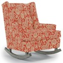 Best Home Furnishings Runner Rockers Paisley Rocking Chair - Item Number: 0165-34064