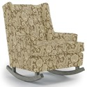 Best Home Furnishings Runner Rockers Paisley Rocking Chair - Item Number: 0165-34069