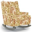 Best Home Furnishings Runner Rockers Paisley Rocking Chair - Item Number: 0165-34079
