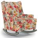 Best Home Furnishings Runner Rockers Paisley Rocking Chair - Item Number: 0165-34223