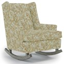 Best Home Furnishings Runner Rockers Paisley Rocking Chair - Item Number: 0165-34412