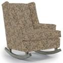 Best Home Furnishings Runner Rockers Paisley Rocking Chair - Item Number: 0165-34419