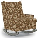 Best Home Furnishings Runner Rockers Paisley Rocking Chair - Item Number: 0165-34536