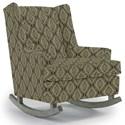 Best Home Furnishings Runner Rockers Paisley Rocking Chair - Item Number: 0165-34563
