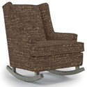 Best Home Furnishings Runner Rockers Paisley Rocking Chair - Item Number: 0165-34596