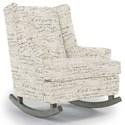 Best Home Furnishings Runner Rockers Paisley Rocking Chair - Item Number: 0165-34597