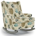 Best Home Furnishings Runner Rockers Paisley Rocking Chair - Item Number: 0165-34612