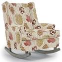 Best Home Furnishings Runner Rockers Paisley Rocking Chair - Item Number: 0165-34618