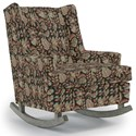 Best Home Furnishings Runner Rockers Paisley Rocking Chair - Item Number: 0165-34626A