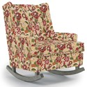 Best Home Furnishings Runner Rockers Paisley Rocking Chair - Item Number: 0165-34697