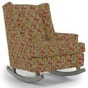 Best Home Furnishings Runner Rockers Paisley Rocking Chair - Item Number: 0165-34718