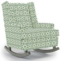 Best Home Furnishings Runner Rockers Paisley Rocking Chair - Item Number: 0165-34952