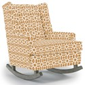 Best Home Furnishings Runner Rockers Paisley Rocking Chair - Item Number: 0165-34959