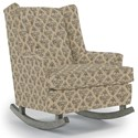 Best Home Furnishings Runner Rockers Paisley Rocking Chair - Item Number: 0165-35239
