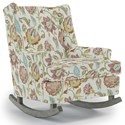 Best Home Furnishings Runner Rockers Paisley Rocking Chair - Item Number: 0165-35508