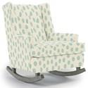 Best Home Furnishings Runner Rockers Paisley Rocking Chair - Item Number: 0165-35532