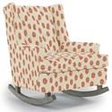 Best Home Furnishings Runner Rockers Paisley Rocking Chair - Item Number: 0165-35534