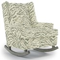 Best Home Furnishings Runner Rockers Paisley Rocking Chair - Item Number: 0165-35813