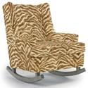 Best Home Furnishings Runner Rockers Paisley Rocking Chair - Item Number: 0165-35816