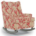 Best Home Furnishings Runner Rockers Paisley Rocking Chair - Item Number: 0165-35858