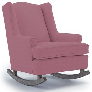 Best Home Furnishings Runner Rockers Willow Rocking Chair