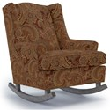 Best Home Furnishings Runner Rockers Willow Rocking Chair - Item Number: 0175-22408
