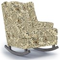 Best Home Furnishings Runner Rockers Willow Rocking Chair - Item Number: 0175-24547