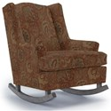 Best Home Furnishings Runner Rockers Willow Rocking Chair - Item Number: 0175-26018