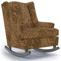 Best Home Furnishings Runner Rockers Willow Rocking Chair - Item Number: 0175-26019