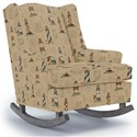 Best Home Furnishings Runner Rockers Willow Rocking Chair - Item Number: 0175-27777