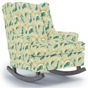 Best Home Furnishings Runner Rockers Willow Rocking Chair - Item Number: 0175-28402