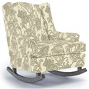 Best Home Furnishings Runner Rockers Willow Rocking Chair - Item Number: 0175-28723